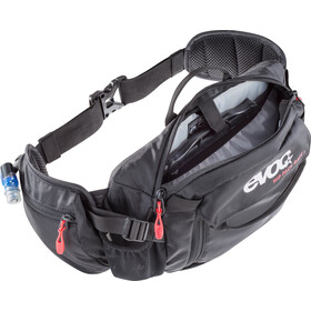 EVOC Hip Pack Race Backpack 3 L + Hydration Bladder 1,5 L, black